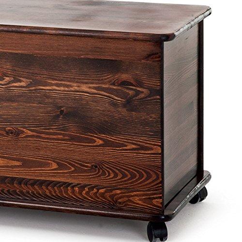 Cassapanca legno per esterno Baule contenitore grezzo wedding ...
