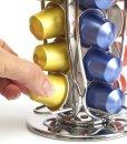 Coffee-Shop-Isis-CH0016-Portacapsule-rotary-in-metallo-acciaio-inossidabile-per-Nespresso-Capienza-40-capsule-Stand-porta-capsule-di-caff-0-3