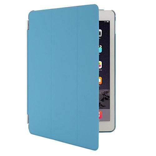 CollectionJoy-Custodie-progettato-per-Apple-iPad-Air-2-iPad-6-Materiale-Poliuretano-Apple-iPad-Smart-Cover-Azzurro-0