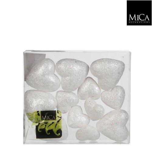 Cuori-da-appendere-scatola-da-12-pezzi-14-cm-diam-bianchi-Cod-126310-0
