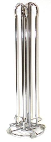 Fackelmann-20993-Portacapsule-in-metallo-per-Nespresso-capienza-40-capsule-4-colonne-0