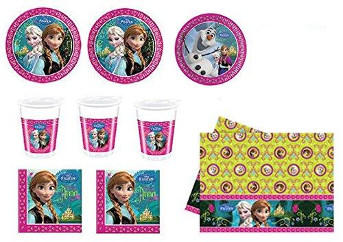 Frozen-set-festa-e-party-24-piatti-24-bicchieri-40-tovaglioli-1-tovaglia-0