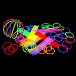 KnickLichterDE-100-luci-chimiche-dai-colori-vivaci-Direttamente-dalla-fabbrica-di-prima-classe-e-di-ottima-qualit-Set-di-202-pezzi-in-7-colori-Nuovissima-generazione-Prodotte-con-etichetta-propria-Sch-0-1