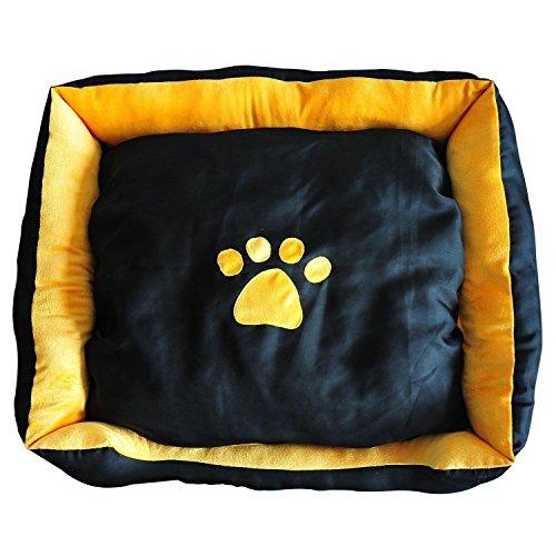 Lettino-Cuccia-Cuscino-per-cane-gatto-animali-domestici-92x80x22cm-Enorme-0