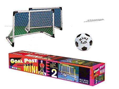 Mondo-18014-Set-2-Mini-Porte-Calcio-0