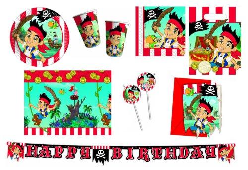 Procos-412247-Kit-festa-per-bambini-I-pirati-di-Jack-XXL-0