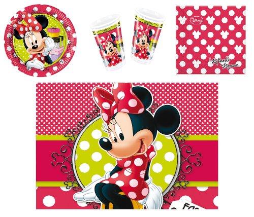 Procos-412279-Kit-festa-per-bambini-Minnie-Fashion-S-0