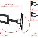 Ricoo-Supporto-per-monitor-R02-N-con-braccio-girevoleinclinabile-per-monitor-PC-o-televisori-da-25-a-84-cm-10-32-VESA-distanza-fori-max-200×200-universale-compatibile-con-TV-e-monitor-di-qualunque-mar-0-2