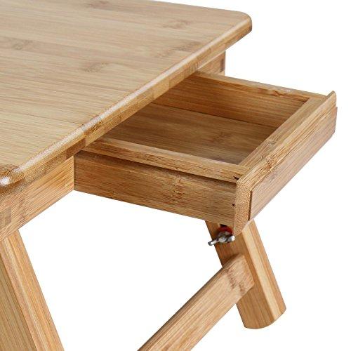 Miadomodo tavolino da letto portatile tavolino letto pc - Tavolino porta pc portatile ...