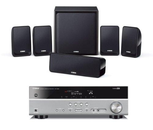 Yamaha-YHT-199-Sistema-Home-Theatre-Argento-0