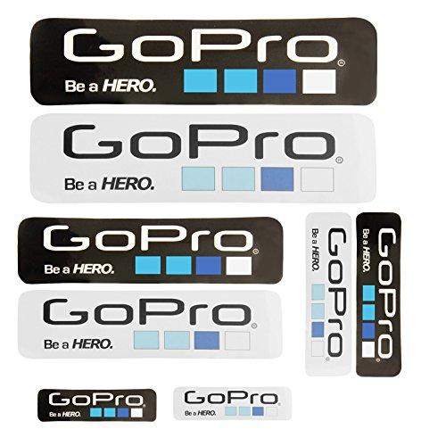 Adesivi-Diversi-Icona-Gopro-Dimensioni-Confezione-Da-8-0