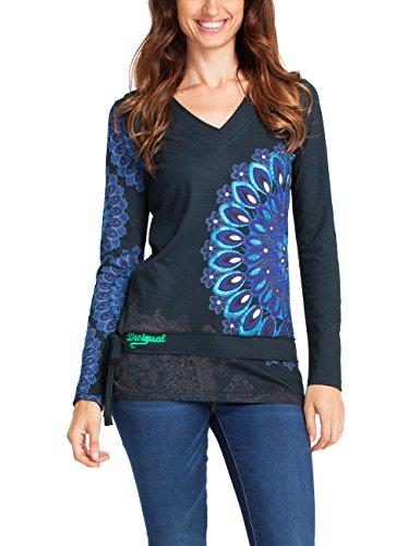 Desigual-T-shirt-a-V-Donna-0