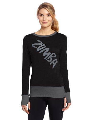 Zumba-Fitness-Maglia-a-maniche-lunghe-Donna-0