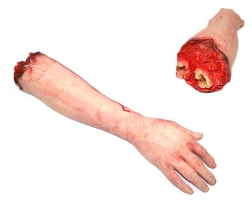 Braccio-Mozzato-Finto-con-sangue-scherzo-realistico-morbido-0
