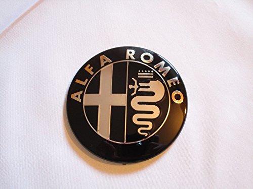 1-STEMMA-ALFA-ROMEO-NERO-GRIGLIA-ANTERIORE-O-POSTERIORE-GIULIETTA-159-MITO-147-GT-74MM-0