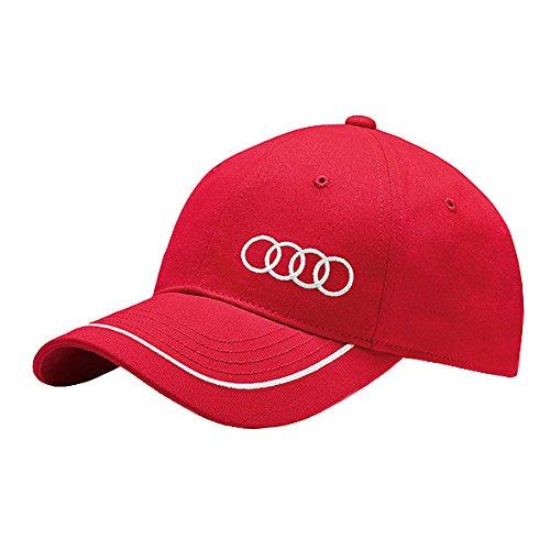 Audi-3131400910-Cappello-Unisex-Rosso-0
