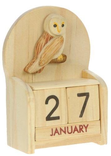 All-My-Gift-Ideas-Calendario-perpetuo-con-gufo-legno-lavorato-artigianalmente-misure-105-x-7-x-35-cm-ottima-idea-regalo-anche-natalizia-regalo-tradizionale-per-bambini-ma-perfetto-anche-per-adulti-che-0
