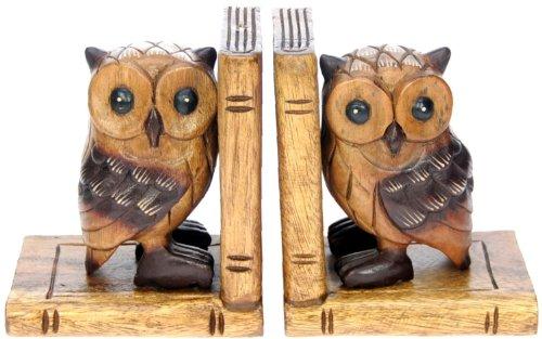 All-My-Gift-Ideas-Fermalibri-con-gufi-regalo-in-legno-tradizionale-inciso-a-mano-2-pezzi-ideale-come-regalo-di-Natale-oggetto-tradizionale-in-legno-di-alta-qualit-per-bambini-adulti-e-animali-0