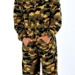 Champion-Pigiama-uomo-Harvey-James-abbigliamento-notte-abito-da-camera-tutto-in-uno-caldo-pile-salopette-9772-0-0