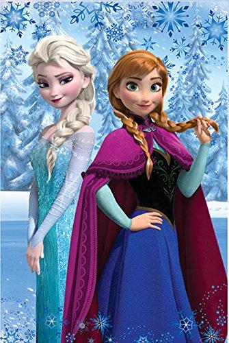 Frozen-Disney-Coperta-Plaid-in-Pile-100×150-cm-Bambina-100-Poliestere-Novit-Prodotto-Ufficiale-0