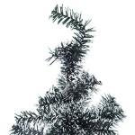 Homcom-Albero-di-Natale-120cm-Abete-Artificiale-in-PET-con-228-Rami-45-Verde-e-Bianco-0-0