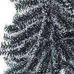 Homcom-Albero-di-Natale-120cm-Abete-Artificiale-in-PET-con-228-Rami-45-Verde-e-Bianco-0-1