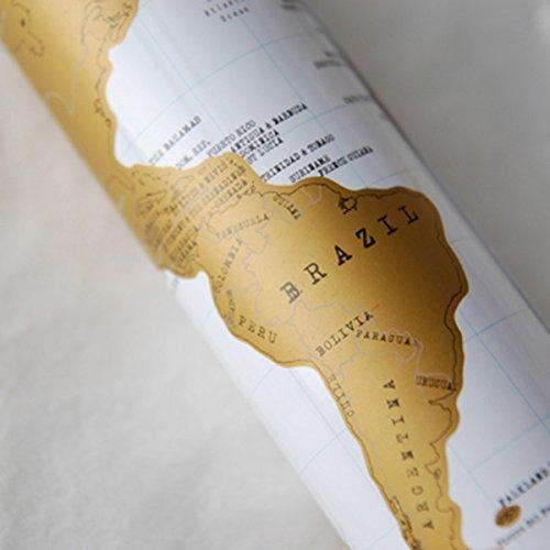 Idee regalo natale originale mappa del mondo vintage for Regalo di natale originale