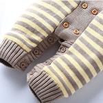 Keral-Natale-Salopette-Maglieria-Velluto-Bambino-Bodysuit-Stripe-Cappuccio-Pigiama-0-1