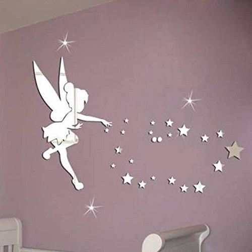 lifeup- adesivi murali bambini camera da letto bambina