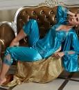 Amybria-donna-in-seta-di-alta-qualit-misto-a-manica-lunga-Set-da-3-pezzi-per-pigiama-e-Vestaglia-per-matrimonio-4-colori-0-1