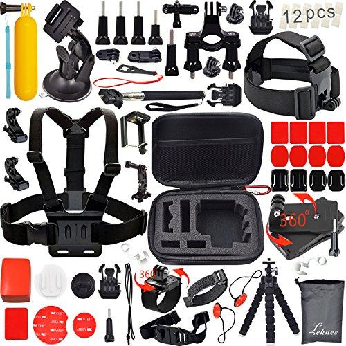 Leknes-Kit-accessori-sport-esterni-bundle-per-telecamere-e-sj4000-telecamere-sj5000-e-per-gopro-hero-43-321-0