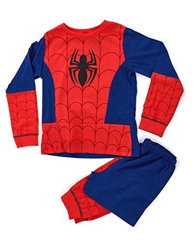 Bambini-Ragazzi-Costume-Travestimento-Play-Costumi-Pigiami-Pigiameria-Di-Pj-Pjs-Set-Buzz-Lightyear-Superman-Spiderman-Addobbi-Festa-Pipistrelli-Batman-misura-UK-1-8-Anni-0