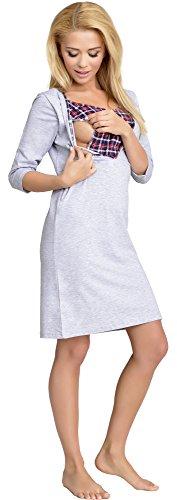 Be-Mammy-Allattamento-Camicia-da-Notte-per-Donna-Lena-0