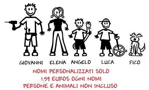 My-Stick-Figure-Family-autoadesivi-dellautomobile-del-vinile-nome-personalizzato-1-x-nome-massima-8-caratteri-PERSONE-E-ANIMALI-NON-INCLUSONOMI-PER-ESTERNI-APPLICAZIONE-SOLO-0