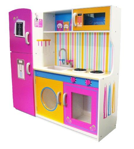 Evie-Jake-915FC1057-Cucina-giocattolo-in-legno-per-bambini-110-x-96-x-35-cm-0