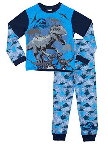 Jurassic-World-Pigiama-a-maniche-lunga-per-ragazzi-0