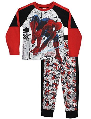 Spiderman-Pigiama-a-maniche-lunga-per-ragazzi-0