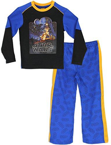 Star-Wars-Pigiama-a-maniche-lunga-per-ragazzi-0