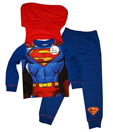 Superman-Pigiama-due-pezzi-ragazzo-0