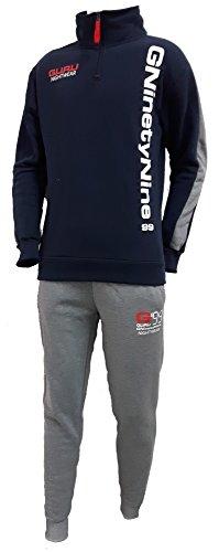 pigiama-tuta-in-felpa-uomo-GURU-mezza-zip-art2784-0